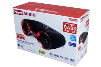 RM 250 BT nowy boombox Bluetooth