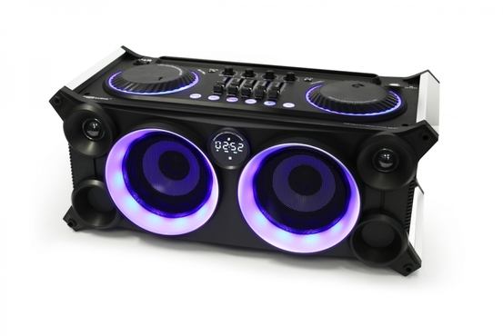 RM-800BT - System Hi-Fi Audio DJ Bluetooth/USB/SD/FM/MIC/Guitar/Aux 90W