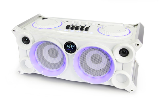 RM-800BTW - System Hi-Fi Audio DJ Bluetooth/USB/SD/FM/MIC/Guitar/Aux 90W