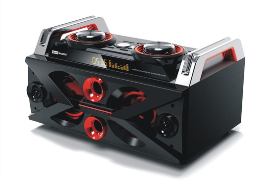 RM-450BT - System Hi Fi Audio DJ Bluetooth/USB/SD/FM/MIC/aux 45W