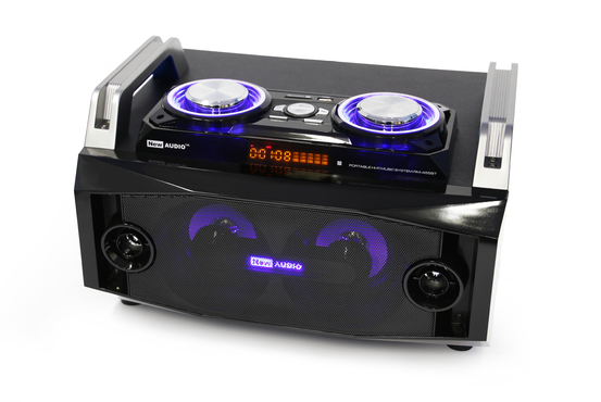 RM-455BT - System Hi Fi Audio DJ Bluetooth/USB/SD/FM/MIC/aux 45W