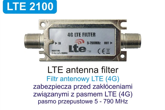 LTE 2100 - Filtr antenowy LTE